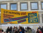 Stuttgart 21: Demonstration